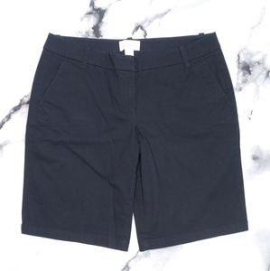 J. Crew Women's Black 2 Pocket Shorts Size 8